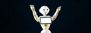 """File picture of SoftBank Corp's human-like robot named """"Pepper"""" in Urayasu"""
