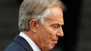 Former British Prime Minister Tony Blair arrives for the Afghanistan service of commemoration at St Paul's Cathedral in London March 13, 2015.   REUTERS/Stefan Wermuth (BRITAIN  - Tags: MILITARY RELIGION POLITICS ANNIVERSARY)   - RTR4T7TK